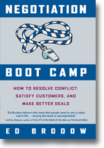 Negotiation Boot Camp book by Ed Brodow